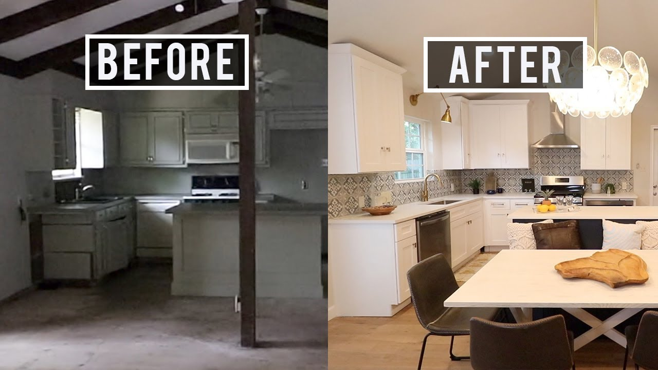 Complete House Flip Before And After 80 000 Renovation Ourhouseforrent,How Much Does It Cost To Paint A Brick House Yourself